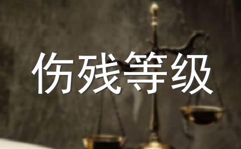 西藏伤残等级计算方式
