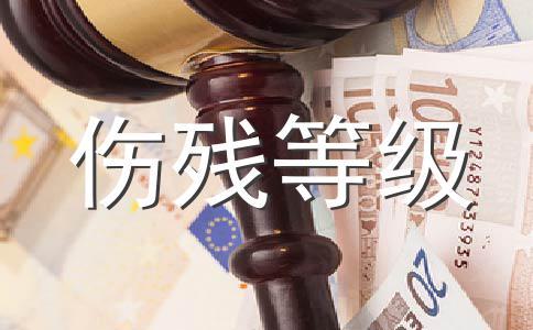 西藏伤残等级赔偿标准